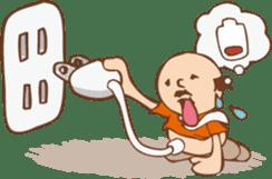 Ojisan from Mr. Mobile - battery saver - sticker #235075