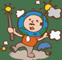 Ojisan from Mr. Mobile - battery saver - sticker #235077