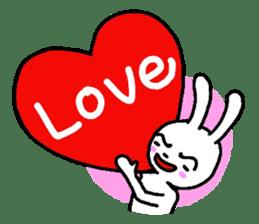 The friends of  Jiro the Rabbit sticker #235169