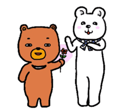 The friends of  Jiro the Rabbit sticker #235181