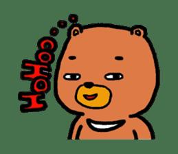 The friends of  Jiro the Rabbit sticker #235182