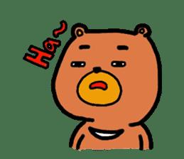 The friends of  Jiro the Rabbit sticker #235184