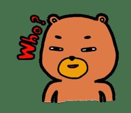 The friends of  Jiro the Rabbit sticker #235186