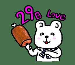 The friends of  Jiro the Rabbit sticker #235189