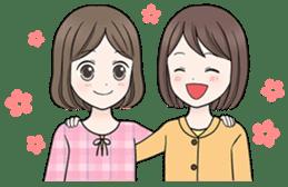 Girls Happy Life 1 sticker #235769