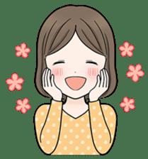 Girls Happy Life 1 sticker #235792