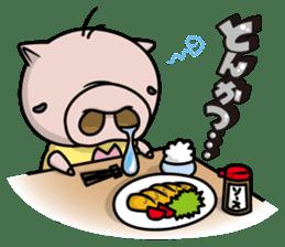 Pigs JIRO and HANA sticker #237403
