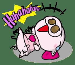 Pigs JIRO and HANA sticker #237407