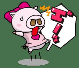 Pigs JIRO and HANA sticker #237408