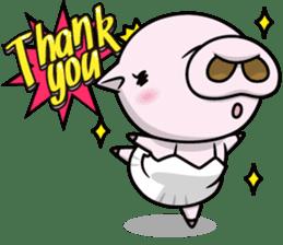 Pigs JIRO and HANA sticker #237414