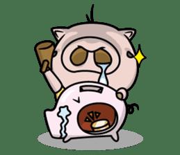 Pigs JIRO and HANA sticker #237435