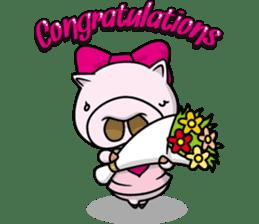Pigs JIRO and HANA sticker #237438