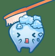 Mr.Tooth sticker #237687