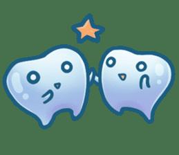 Mr.Tooth sticker #237691