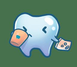 Mr.Tooth sticker #237701