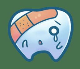 Mr.Tooth sticker #237702