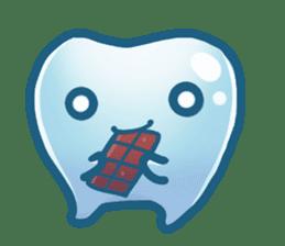 Mr.Tooth sticker #237703