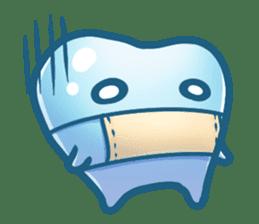 Mr.Tooth sticker #237709