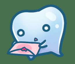 Mr.Tooth sticker #237711