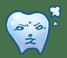 Mr.Tooth sticker #237712