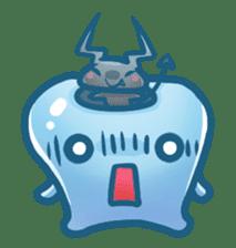 Mr.Tooth sticker #237713