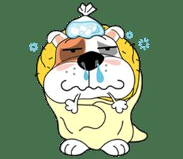 Ceza Bulldog sticker #237844