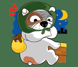 Ceza Bulldog sticker #237860