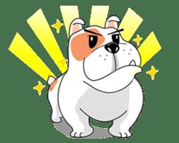 Ceza Bulldog sticker #237865