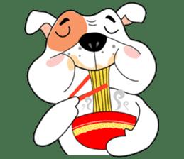 Ceza Bulldog sticker #237875
