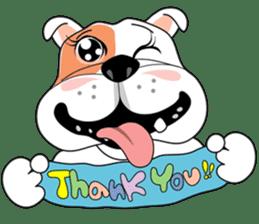 Ceza Bulldog sticker #237878