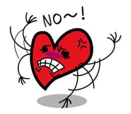 HAPPY LOVE HEARTY sticker #237962