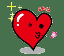 HAPPY LOVE HEARTY sticker #237970