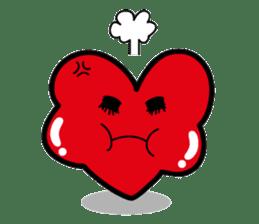 HAPPY LOVE HEARTY sticker #237976
