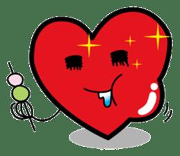 HAPPY LOVE HEARTY sticker #237978