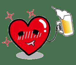 HAPPY LOVE HEARTY sticker #237979