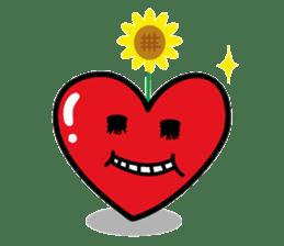 HAPPY LOVE HEARTY sticker #237981