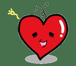 HAPPY LOVE HEARTY sticker #237993