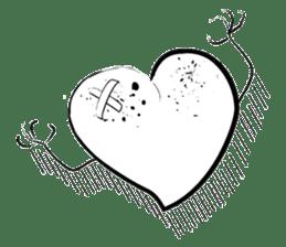 HAPPY LOVE HEARTY sticker #237995