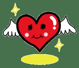 HAPPY LOVE HEARTY sticker #237999