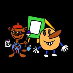Kids Stickers Marubo & Rowdy Bunch