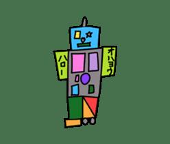 Kids Stickers Marubo & Rowdy Bunch sticker #238315