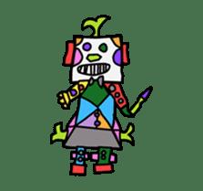 Kids Stickers Marubo & Rowdy Bunch sticker #238316