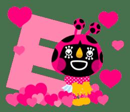 ladybird Nana-chan's love sticker sticker #238528