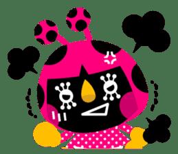 ladybird Nana-chan's love sticker sticker #238530