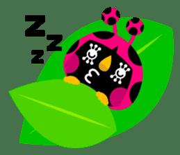 ladybird Nana-chan's love sticker sticker #238534