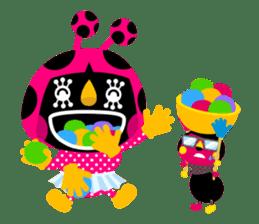 ladybird Nana-chan's love sticker sticker #238536