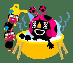 ladybird Nana-chan's love sticker sticker #238539