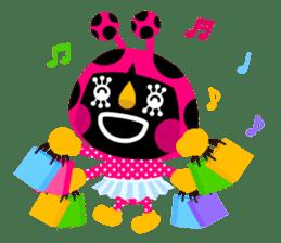 ladybird Nana-chan's love sticker sticker #238543