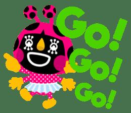 ladybird Nana-chan's love sticker sticker #238545