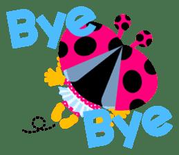 ladybird Nana-chan's love sticker sticker #238546